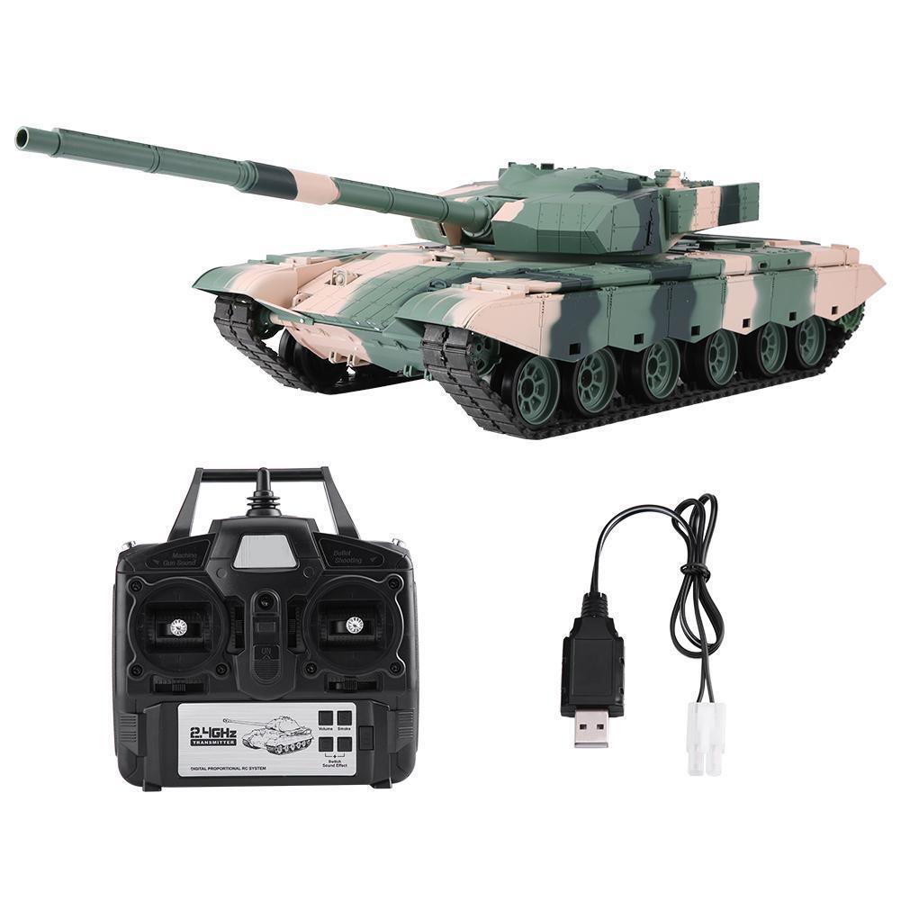 Heng Long 3899A-1 2.4GHz escala 1/16 modelo de simulación de control remoto RC Tanque
