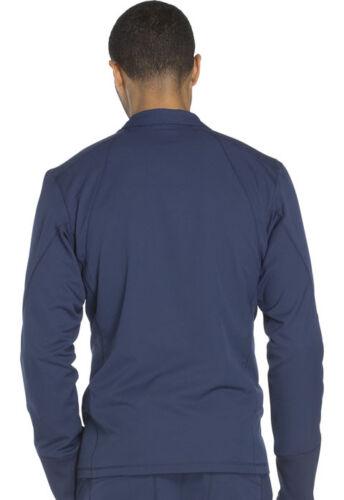 Dickies Men/'s Scrubs Zip Front Jacket DK310 NAV Navy Free Shipping