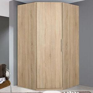 eckschrank schlafzimmer kleiderschrank sonoma eiche 1 t rig 94cm neu d30 ebay. Black Bedroom Furniture Sets. Home Design Ideas