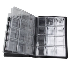 Pop 120 Pocket Various Coin Collection Dollar Cent Grab Book Currency Holder Set