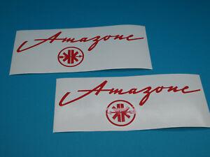 Details Zu Kreidler Amazone Mit Logo Aufkleber Set Dekor Schriftzug Sticker Rot Neu