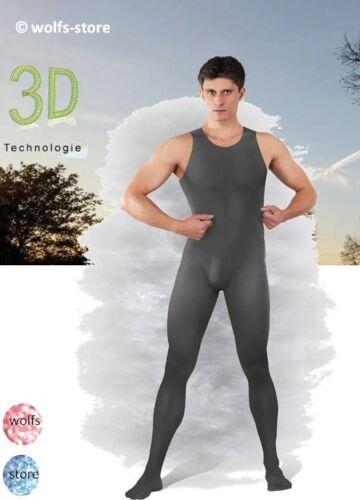 60den CATSUIT TUTA tutta body per l/'uomo DIV colori /> 5 dimensioni fino a 64//66