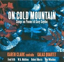 Clark; Galax Quartet; Wilso...-On Cold Mountain: Songs On Poe CD NEW