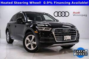 2018 Audi Q5 Progressiv w/Navigation & Sunroof *Local Trade*