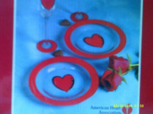 American Heart Association glassware gift set
