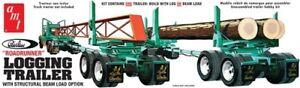 AMT-Peerless-Logging-Trailer-1-25-scale-model-kit-new-1103