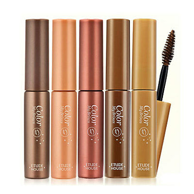 ETUDE HOUSE Color My Brows 4.5g ( Brow Mascara, Concealer ) : 5 Colors : Eyebrow