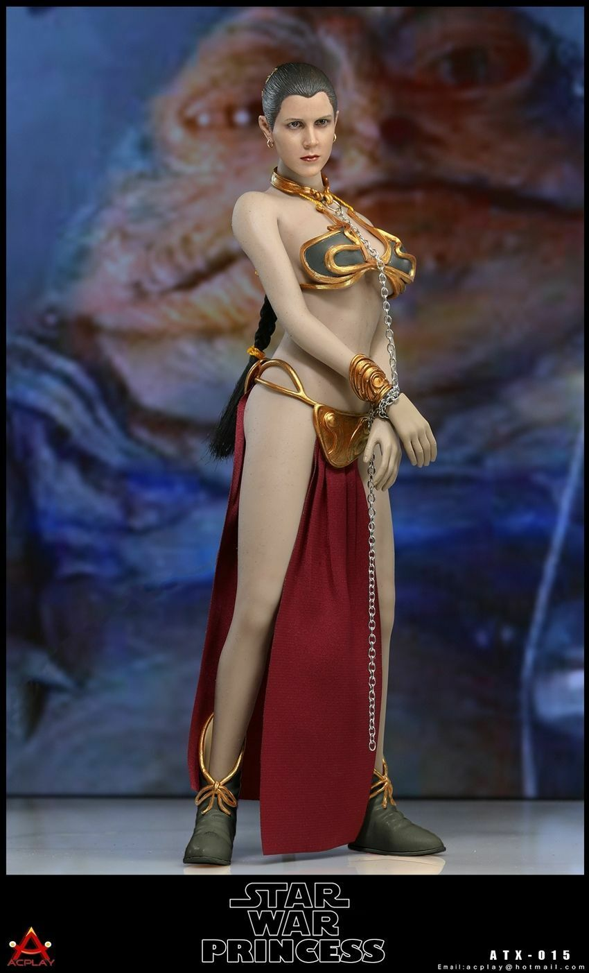 1 6 Princesa Leia Organa Star Wars Esclavo Conjunto Set para PHICEN Hot Toys ❶ USA ❶