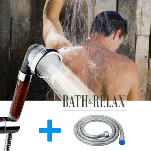 Handheld Shower Head Kit High Pressure Removable Hand Held Showerhead With Hose