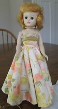 "Vintage Vogue Jill Doll 10"", Formal, Heels, Headpiece, Stand, Panties 1950s"