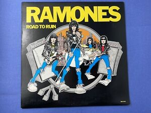 Ramones-ROAD-TO-RUN-LP-Vinyl-Record-Album-1978-Sire-Records-SHRINK-Punk-SRK-6063