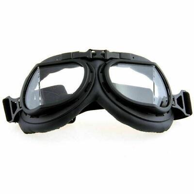 Retro Style Motorcycle Goggles Motorbike Flying Scooter Aviator Helmet Glasses