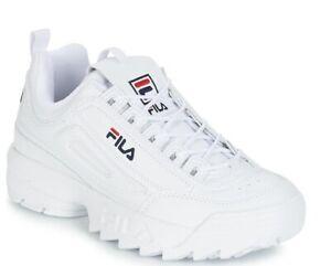 Fila-para-mujer-Disruptor-II-2-Tenis-Casuales-Atleticas-Zapatos-Correr-Caminar-Deportes