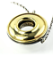 thumbnail 3 - Tiffany &Co Picasso Magic 18K Gold Sterling Silver Reversible Disk Necklace RARE