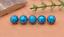 10X-10mm-Antique-Flower-Turquoise-Conchos-Leather-Crafts-Bag-Wallet-Decoration miniature 10