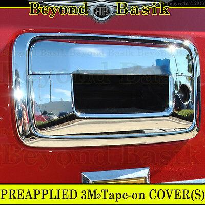 For 2014 15 16 17 18  Chevy Silverado 1500 GMC Sierra Chrome 4 Door Handle Cover