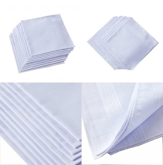 4 Pack Mens Handkerchiefs