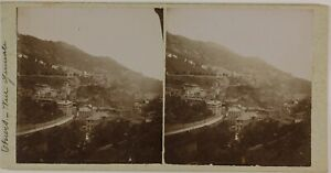 Suisse Ville A Identificare Foto Stereo St9T3n21 Vintage Citrato c1900