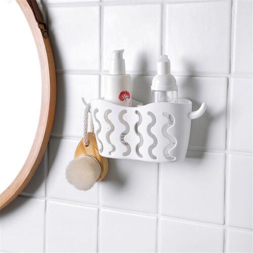 1PC Bathroom Hanging Basket Wall Kitchen Organizer Sink Faucet Sponge Holder HC