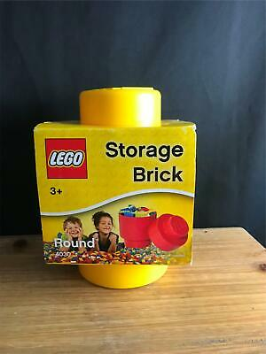 New Lego Round Stackable Storage Brick Red #4030