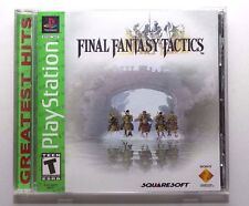 Final Fantasy Tactics PS1/PSone (TESTED!)