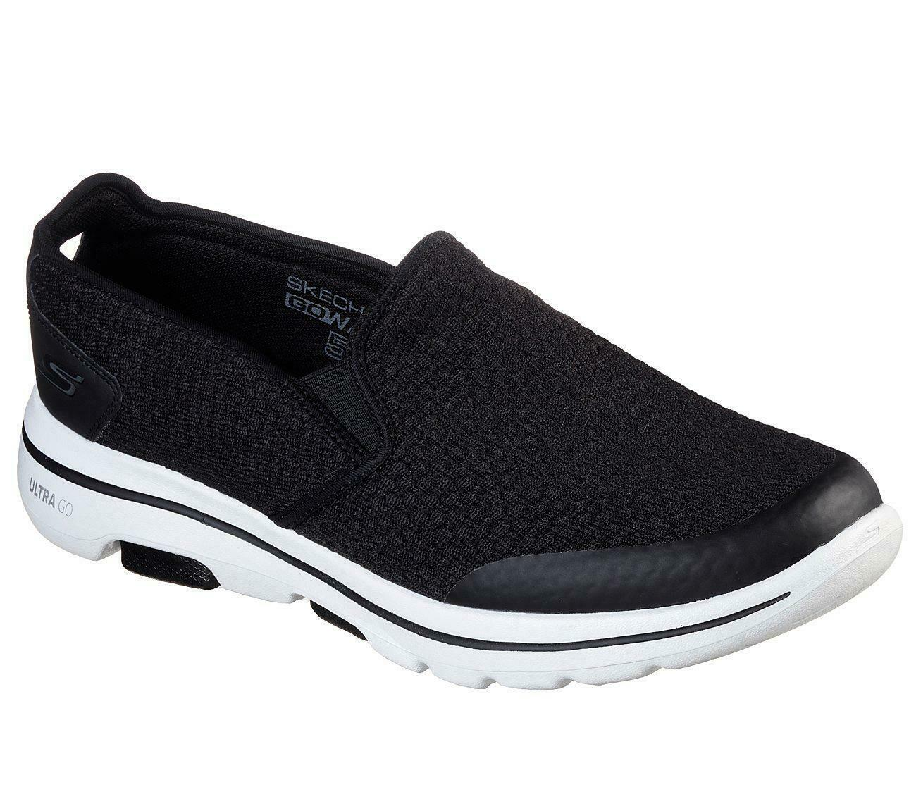Men's Extra Wide Fit GOwalk 5 Apprize Ultra GO Max Running/Walking Shoes