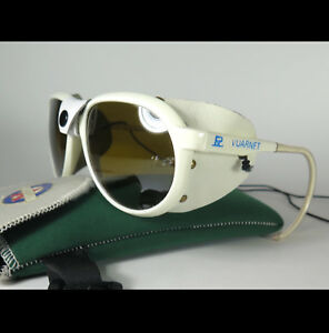 c83123dc568 Image is loading VINTAGE-VUARNET-FRANCE-SUNGLASSES-GLACIER-027- MOUNTAINEERING-LEATHER-