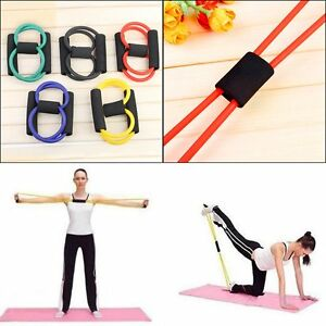 New-Resistance-Band-Yoga-Pilates-Abs-Exercise-Stretch-Fitness-Tube-Workout-Bands
