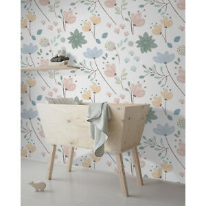Removable Wallpaper Fl Nursery