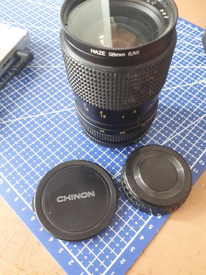 AUTO CHINON ZOOM MC 35-70mm 1:2.7-3.5, Chinon, Perfekt