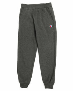 NWT-Boys-Youth-Champion-Athletic-Jogger-Pants-Dark-Gray-Size-Small-S-NEW