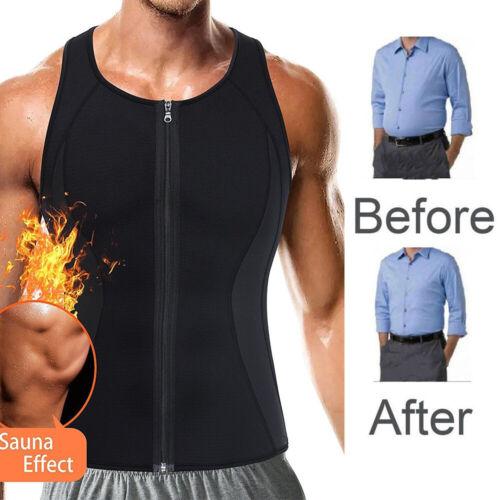 Women Men Waist Trainer Vest Weight Loss Sauna Neoprene Body Shaper Tank Top MFS