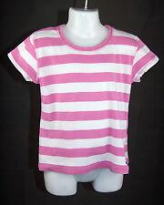 H&M L.O.G.G. - T-Shirt - rosa/weiß gestreift - Größe 122