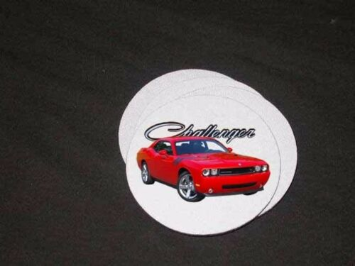 NEW Dodge Challenger Soft Coaster Sets!