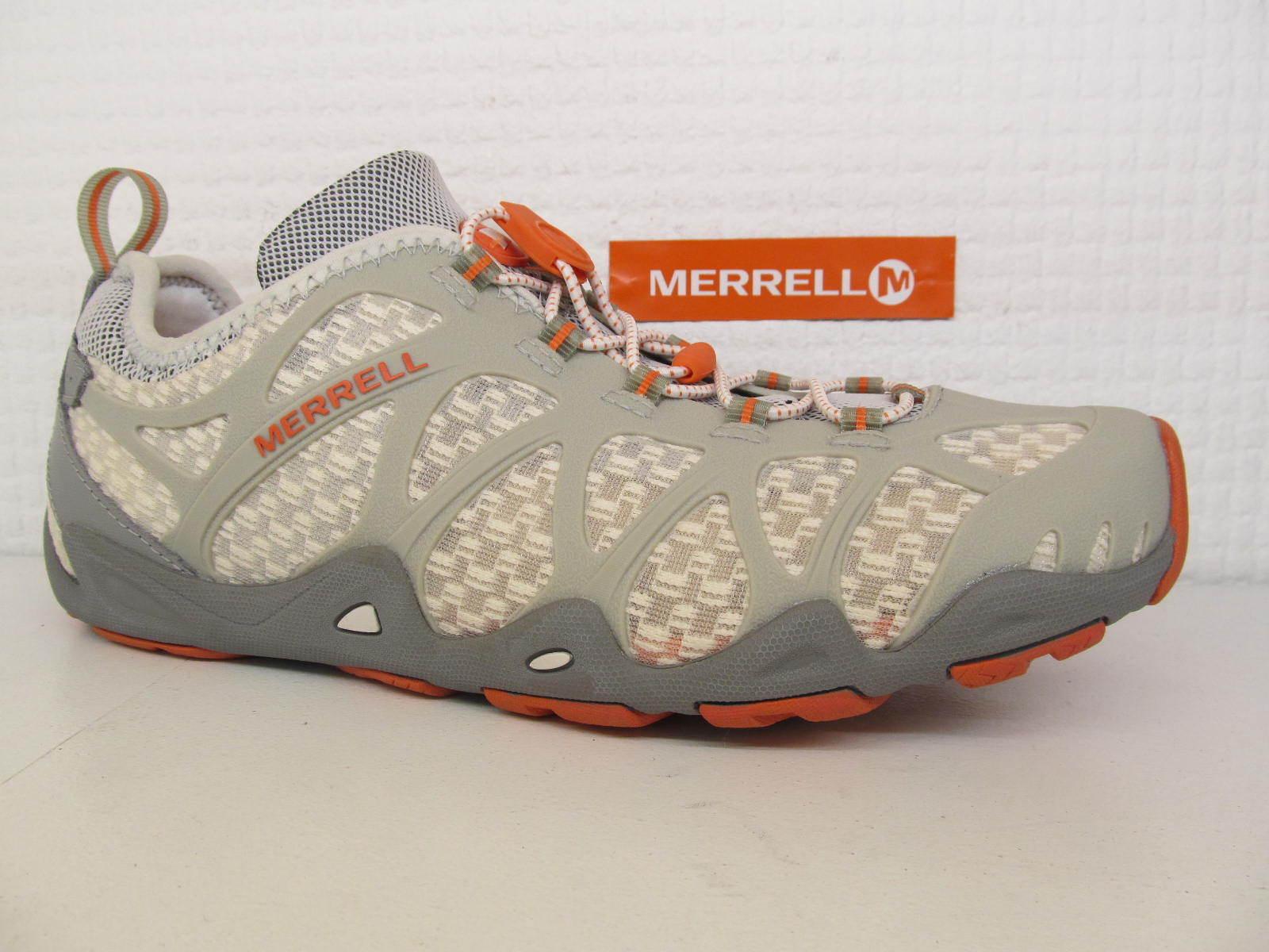 Descuento por tiempo limitado Merrell Aquaterra Nymph Ladies Womens Ice Grey Slip On Toggle Wet Trainer Shoe