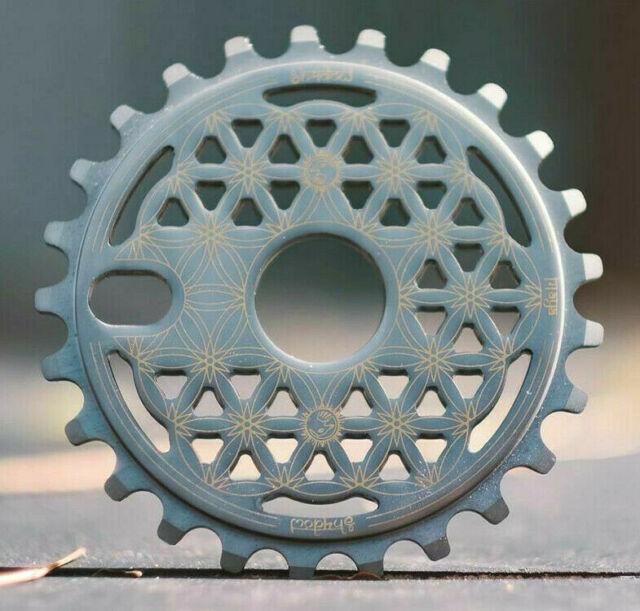 SHADOW CONSPIRACY SABOTAGE GUARD SPROCKET 25t BMX BIKE FIT HARO SUBROSA SE BLUE