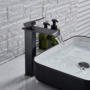 Oil-Rubbed-Bronze-Bathroom-Basin-Faucet-Vessel-Sink-Tall-Countertop-Mixer-Tap