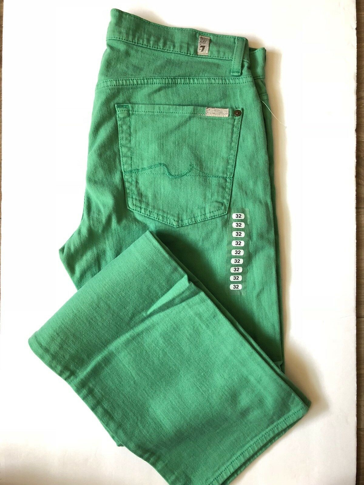 New Standard Green 7 For All Mandkind Jean
