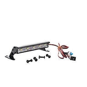 5 LED 90mm Alloy Light Bar for 1:16 1:18 1:10 RC Traxxas Rustler Bandit Stampede