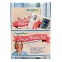 Coupon Mom Organizing Binder Set Blue Stripe Design (hardcover) (free Shipping)