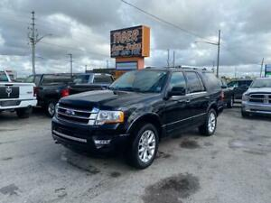 2017 Ford Expedition Limited*ONLY 118KMS*LEATHER*SUNROOF*NAVI*CERT