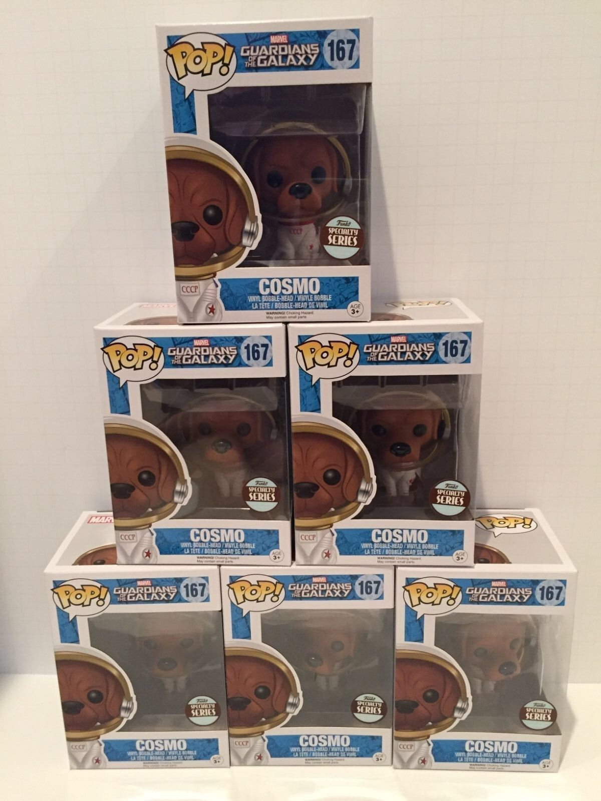Funko Speciality store exclusive guardians of galaxy Cosmo on hand new