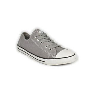 Converse-All-Star-sneakers-scarpa-Donna-chuck-taylor-dainty-ox-bassa-Grigio