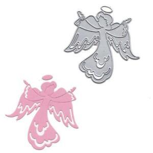 Beautiful Angel Metal Cutting Dies Stencil Scrapbooking DIY Album Stamp Emboss