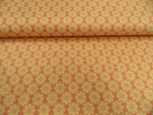 Patchworkstoffe von Makower verschiedene Designs je 25 x 110 cm 100/% Baumwolle