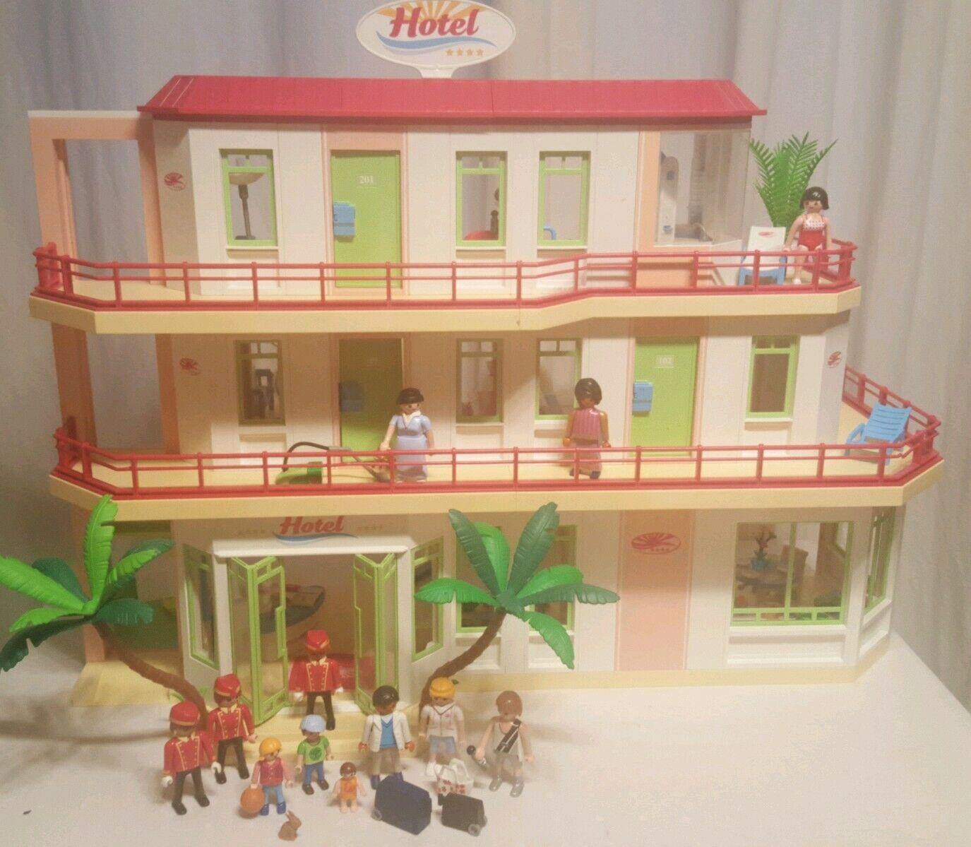 Playmobil heißel 5265 + 5269 + 3 Etagen  + individuelle Einrichtung