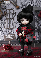 Ai Doll Black Berry Mini Ball Jointed Doll Gothic Punk Bjd Groove In Usa