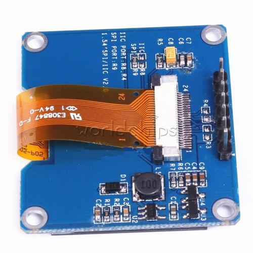 "White 1.54/"" inch OLED Display Module SSD1309 SSD1306 SPI Port 128x64 3.3V-5V"