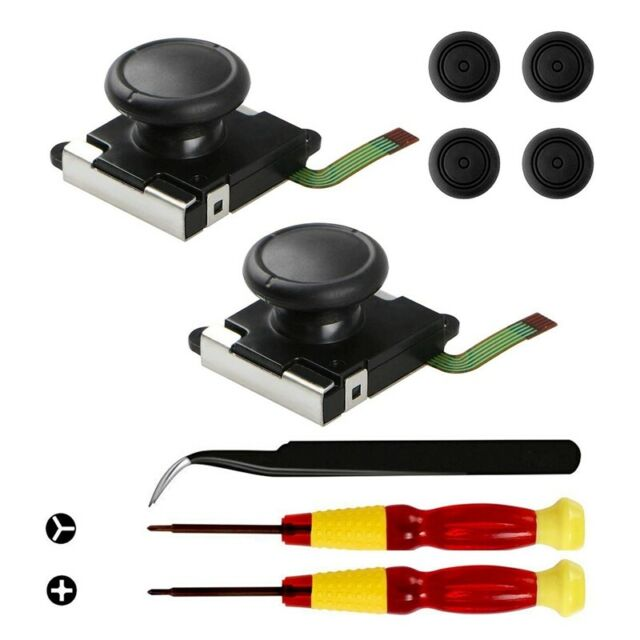 2-Pack 3D Replacement Joystick Analog Thumb Stick For Ns Switch Controller  K2H8