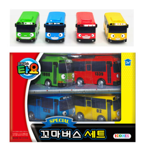 Tv Movie Character Toys Toys Hobbies Tayo The Little Bus Special 4 Mini Cars Set Toy Characters Children Kids Gift